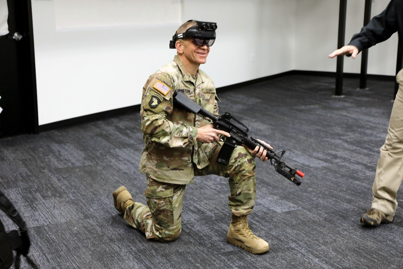 SMA Grinston at the Fort Belvoir, Va Soldier Integration Facility on 18 February 2020.